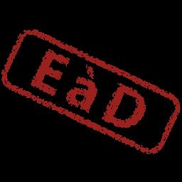 Pastille acronyme eàd (enseignement à distance)